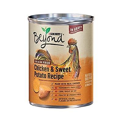 Purina Beyond Grain Free Chicken & Sweet Potato Recipe (6-CANS) (NET WT 13 OZ Each CAN)