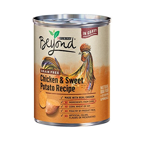 Purina Beyond Grain Free Chicken & Sweet Potato Recipe (6-CANS) (NET...
