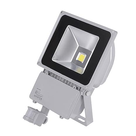 PrimLight 100W Foco con PIR Sensor de Movimiento Proyector LED ...