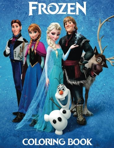 FROZEN: Coloring Book for Kids and Adults - 40 illustrations