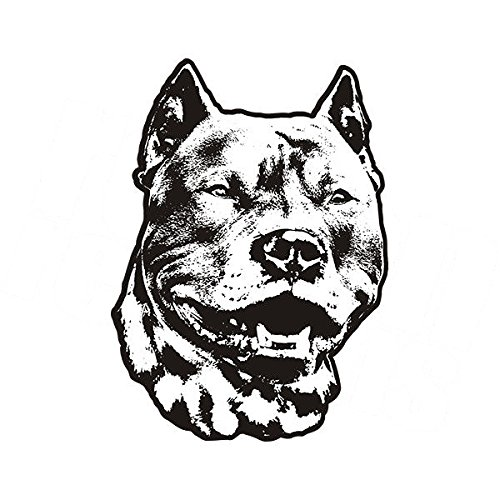 Pitbull Dog Adopt Pit Bull Rescue Pet Kennel Vinyl 4