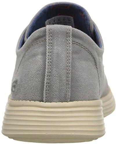 Skechers Herren Status-Borges Sneakers Grau (Ltgy)