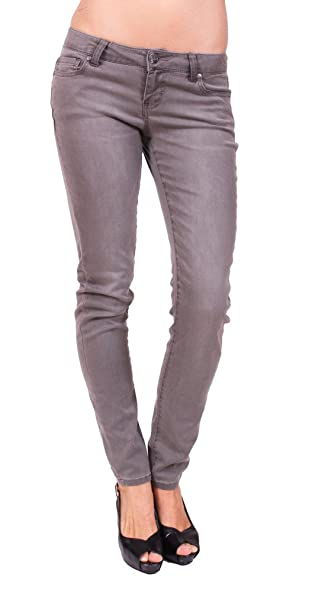 Amazon.com: Celebrity Pink Jeans Blues Mujeres Skinny Gris ...