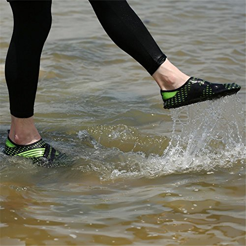 Saguaro Menn Og Kvinner Strand Svømme Surfe Yoga Vann Sko, Aqua Sokker Svart