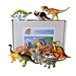 Dinosaur toy plastic figures boxed se...