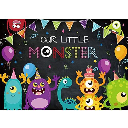 monster baby shower invitations - 5