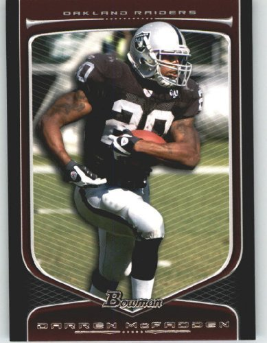 Darren McFadden - Oakland Raiders - 2009 Bowman Draft Picks Football Cards #54 - NFL Trading Card