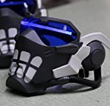 Gmasking 2017 OW Soldier 76 John ''Jack'' Morrison Cosplay Light-up Mask Exclusive 1:1 Collectible