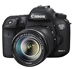 Canon EOS Eos 7D Mark II + EF-S 18-135mm f/3.5-5.6 IS STM: Amazon ...