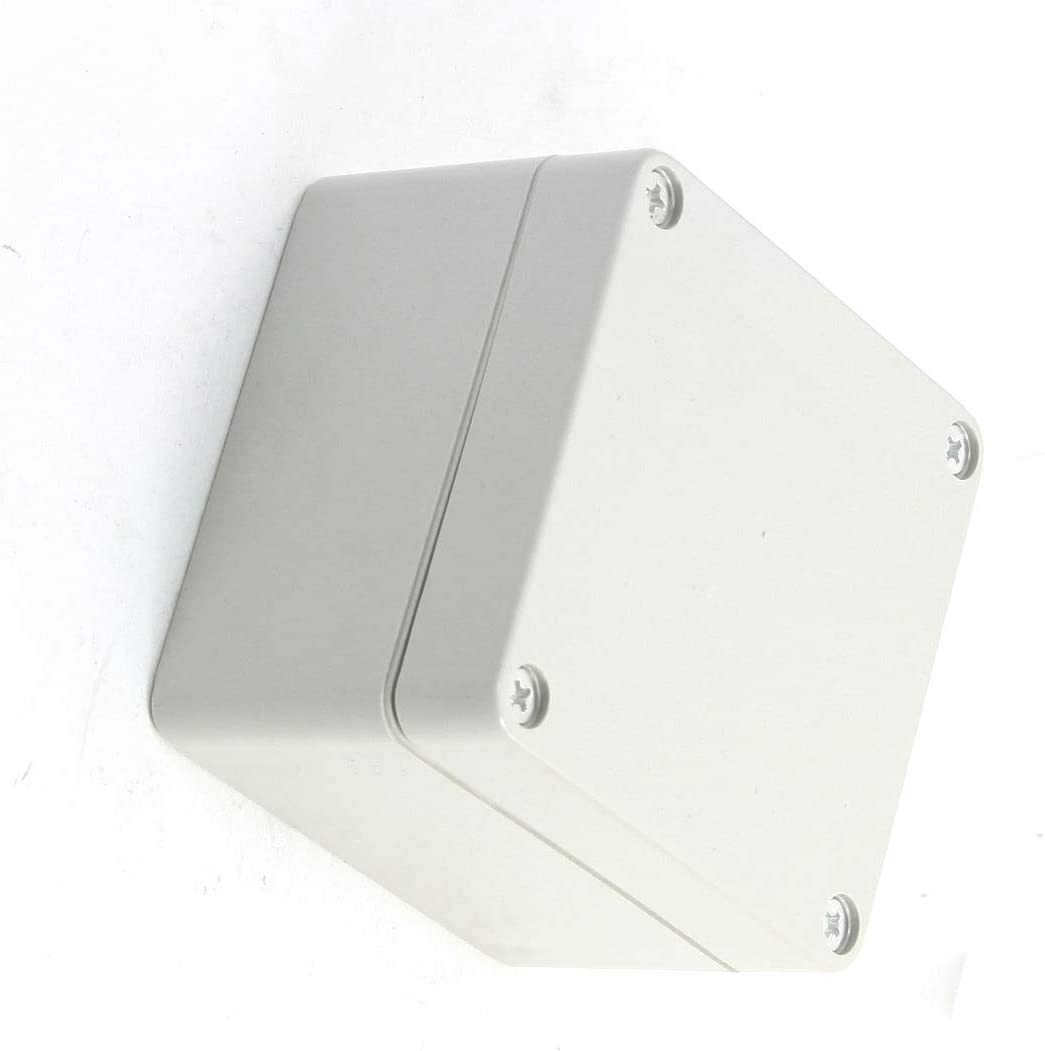 UPS Box 83mmx81mmx56mm Aexit Plastic Waterproof Power Protection Sealed Power Protector Junction Uninterrupted Power Supply