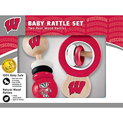 Wisconsin Wood Rattle Set: Sports & Outdoors