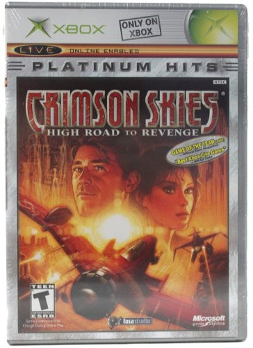 Crimson Skies: High Road To Revenge Platinum Hits - (Crimson Video Game)