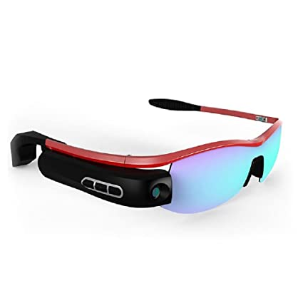 8c149bdac5340 Smart Glasses HD Video Photo Camera Wireless Camera Movement Compatible  with Android  IOS System Glasses