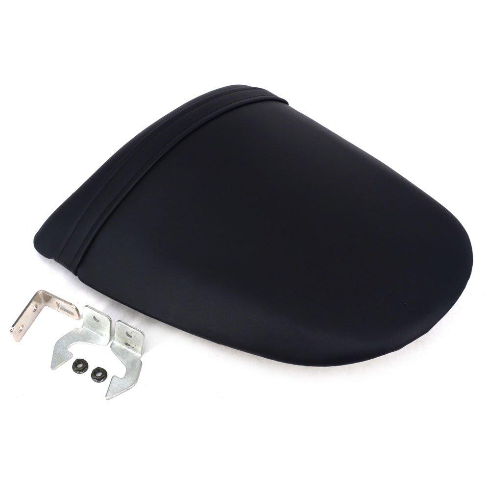Fast Pro della sella in pelle confortevole Pad Cusion posteriore sedile passeggero sellino per Kawasaki Z750 Z1000 Ninja ZX6R ZX633 nero