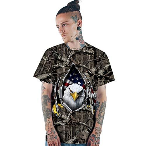 Chiccc Women Men Youth Adult 3D Print Tie Family Matching T-Shirt Tops Tee July of 4th Dashiki Shirt Boho Top