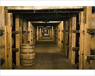 10x8 Print of USA, Kentucky, Loretto Maker s Mark Bourbon Distillery, Aging Bourbon in (8177055)