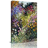 Home Decor Canvas Wall Art Painting, Wild Flowers Prints, Morden Artwork Framed for Living Room Wall Decorations Ready to Hang 12'x18'