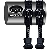 Aktivx Sports Laces – No Tie Shoelaces That Lock – Replacement Elastic Shoelaces, Athletic Laces For Running Gear Accessories, Mens Womens Or Kids Shoes, Fitness Exercise Equipment (black) | amazon.com