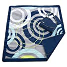 JJ Cole All Purpose Outdoor Blanket Large Blue Orbit