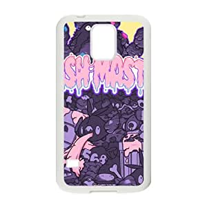 Samsung Galaxy S5 Cell Phone Case White TRASH MASTER CEM Protective Durable Case