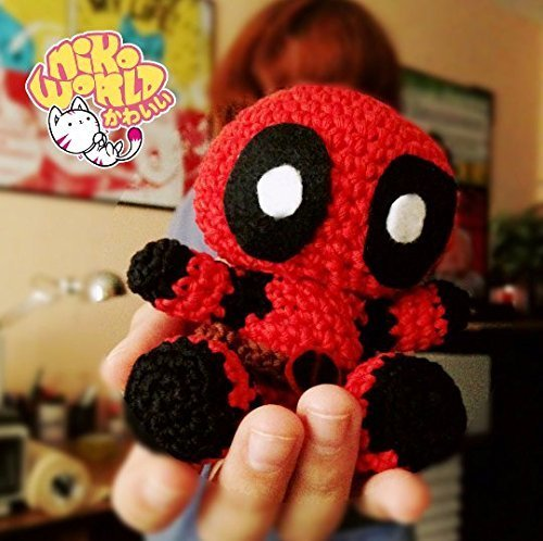 Amigurumi DEADPOOL AMIGURUMI WOVEN TO CROCHET 2/2 – Amigurumi Patterns | 498x500