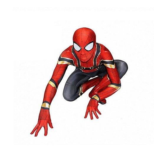 QXMEI Avengers Iron Spiderman Cosplay Medias Siamesas Niños ...