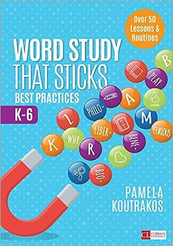 amazon com word study that sticks best practices k 6 corwin