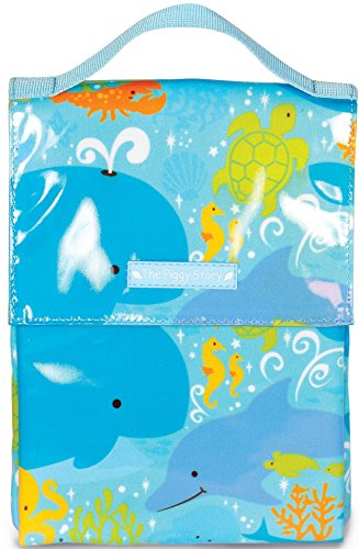 - The Piggy Story 'Under The Sea' Insulated Wipe-Clean GoGo Lunch Sack for Kids