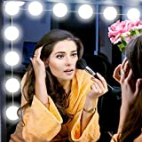 Hollywood Style LED Vanity Mirror Lights Kit - Makeup Light with 4 Dimmable Bulbs and Dimmer for Makeup Vanity Table in Dressing Room