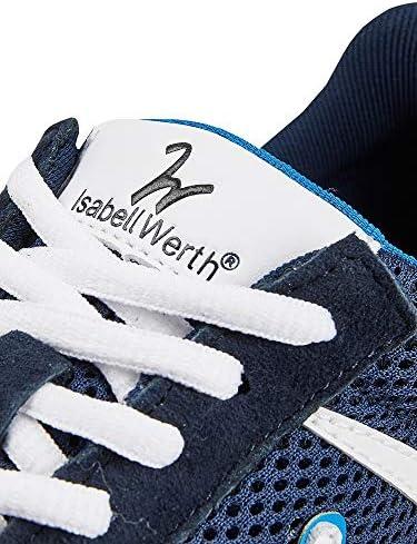 IW Isabell Werth Walk on Fame Comfort Navy Chaussures de sport pour femme Bleu marine Taille 39