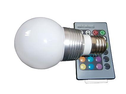 Rgb Led Lamp : Memory function rgb led bulbs light w e gu lights