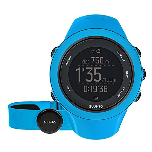 Suunto Ambit3 Sport HR Monitor Running GPS Unit, Blue by Suunto