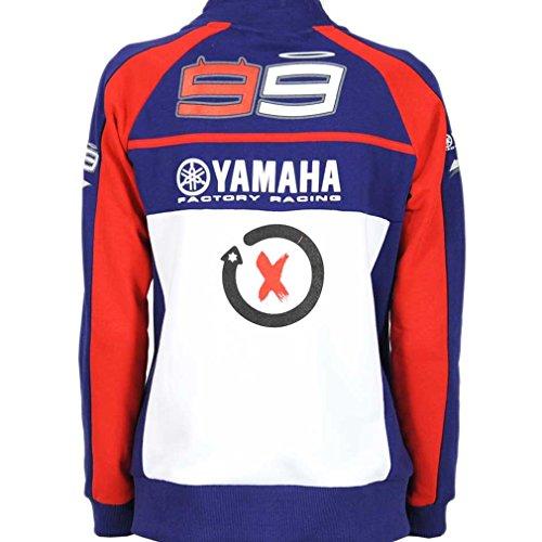 Jorge Lorenzo 99 M1 Yamaha Factory Team MotoGP Womens Hoodie Official 2015