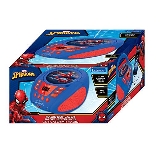 LEXiBOOK Spider-Man Boombox Radio CD Player by LEXiBOOK (Image #5)