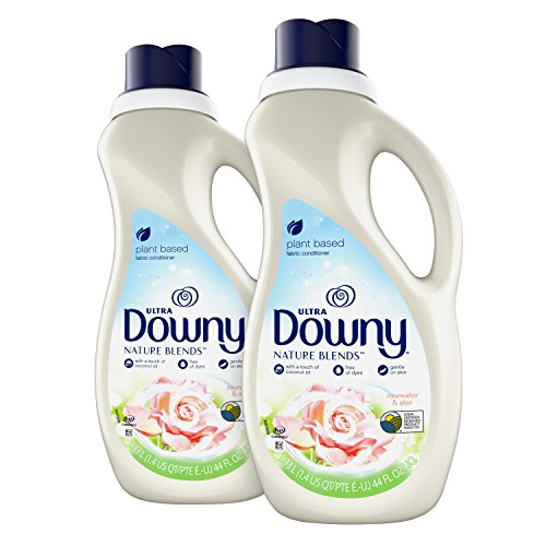 Downy Nature Blends Liquid Fabric Conditioner & Softener, Rosewater & Aloe, 2 Count