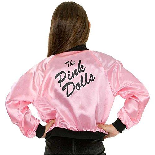 Olivia Newton John Costume (The Pink Dolls Kids Jacket)