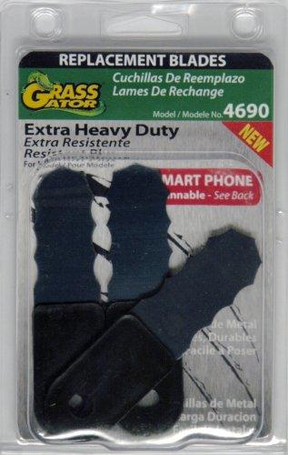 Grass Gator 4690 3-Pack Brush Cutter Blade (Heavy Extra Blades Duty)