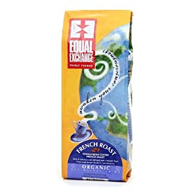Equal Exchange Organic Coffee, French Roast, Whole Beans, 10 Ounces 11 This dark gem is full of chocolaty richness, with a subtle smoky flavor. It's our bestseller - you'll see why. FAIR TRADE KOSHER SMALL FARMER GROWN