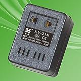 Voltage Converter Adapter 110V US to 220V US EU - Black