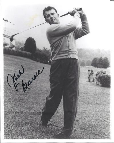 Jack Burke Autographed Golf 8x10 Photo - PSA/DNA Certified - Autographed Golf Photos (Autograph Photo Certified Golf 8x10)