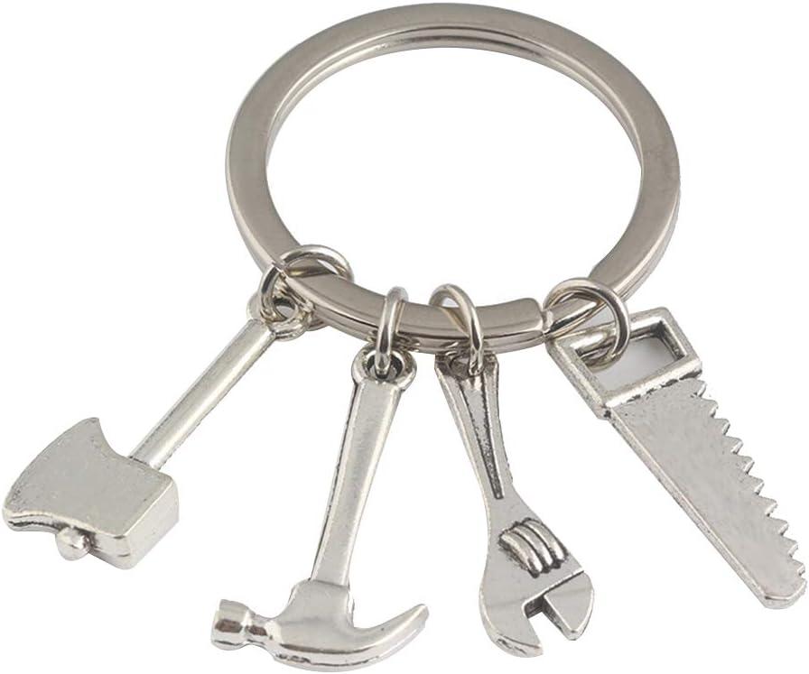 Qifumaert Porte-Cl/és//Trousseau M/étal Cha/îne Keychain Cl/é pour Cadeau Voiture T/él/éphone Sac /à Main Pendentif D/écoration Accessoires Porte Clef