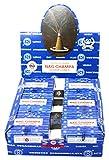 Nag Champa Satya Sai Baba Temple Incense Cones Carton, 12 Box