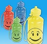 7.5'' 18 oz SMILELY FACE WATER BTL, Case of 144