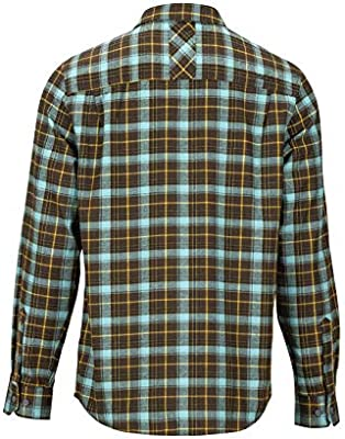Marmot Anderson Lightweight Flannel Camisa para Exteriores De Manga Larga, Camisa De Senderismo, con Protección UV, Transpirable, Hombre, Brown, XXL: Amazon.es: Deportes y aire libre