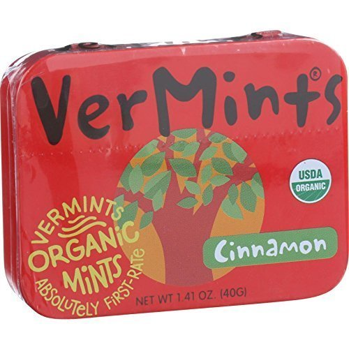 VerMints All Natural CinnaMints, 1.41-Ounce Packages (Pack of 6) ( Value Bulk Multi-pack)