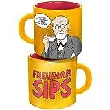 Sigmund Freud: Freudian Sips Coffee Mug