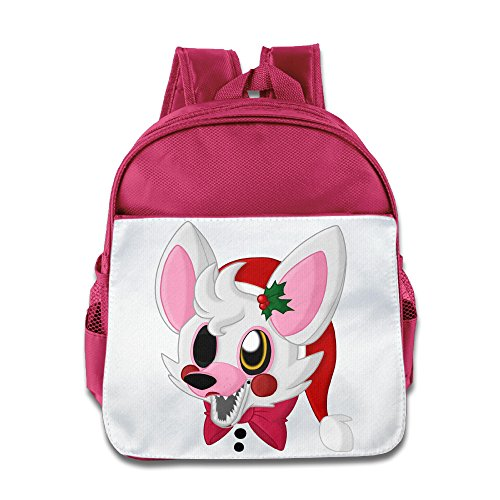 HYRONE Five Night Video Game Trailerb Kids Children School Bag Backpack For 1-6 Years Old Pink (Kids Plush Dinosaur Wings Costume)