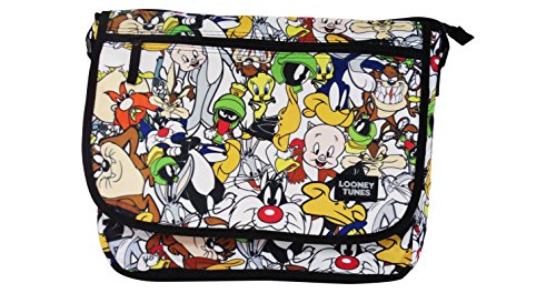 Warner Bros Looney Tunes Shoulder Bag School Freetime (Looney Tunes Handbag)