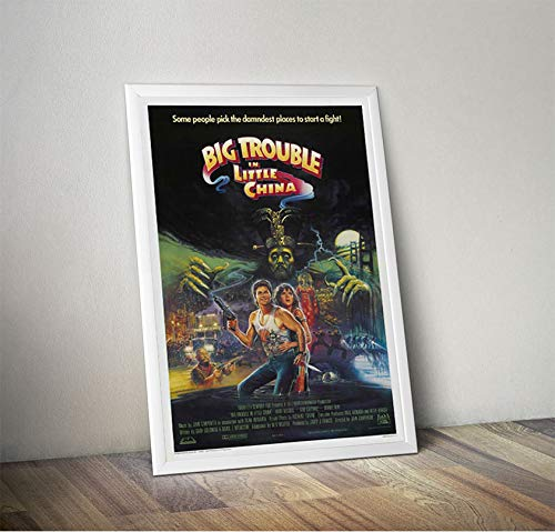Posta Grosso guaio a Chinatown Film Wall Poster Art