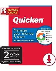 $29 » Quicken Deluxe Personal Finance - 14-Month Subscription [Amazon Exclusive] [PC/Mac Online Code]